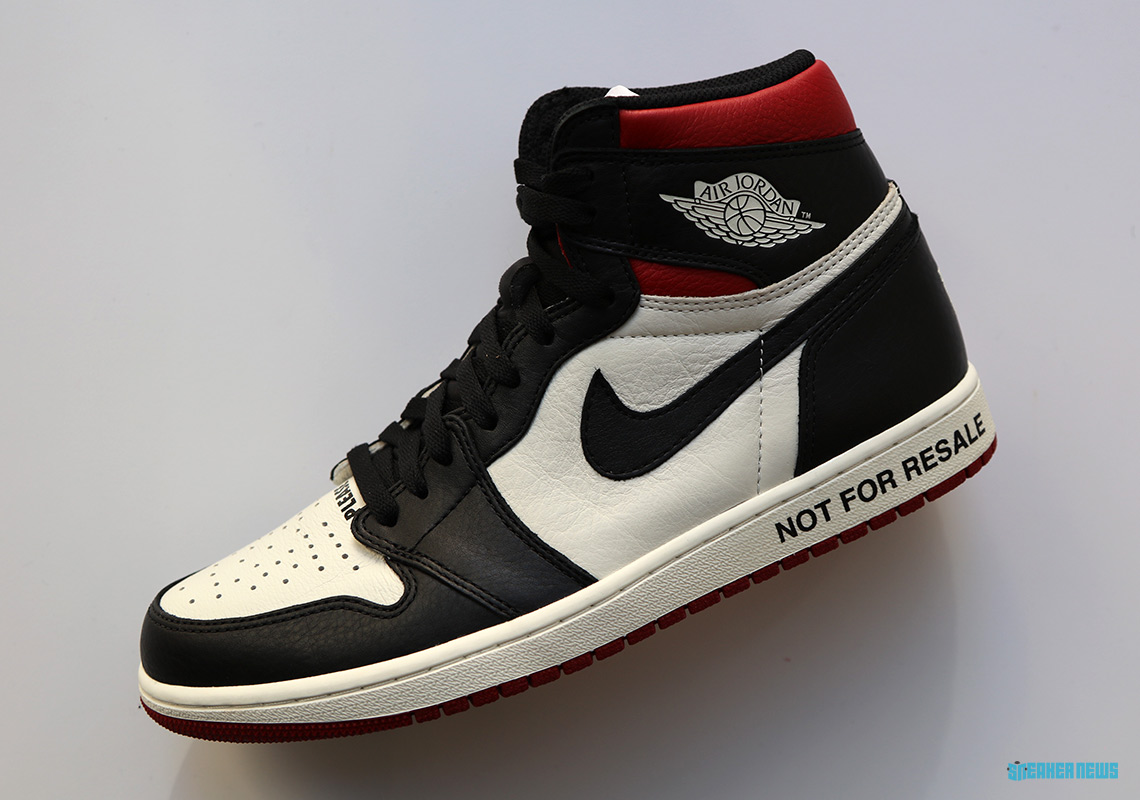 air jordan 1 not for resale