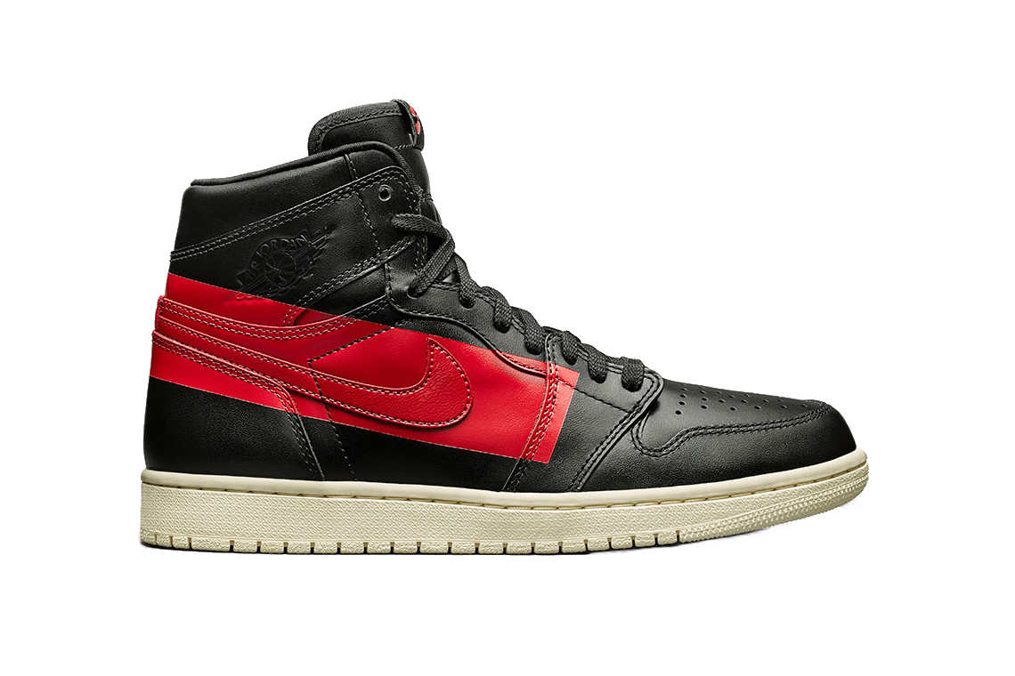air jordan 1 red and black
