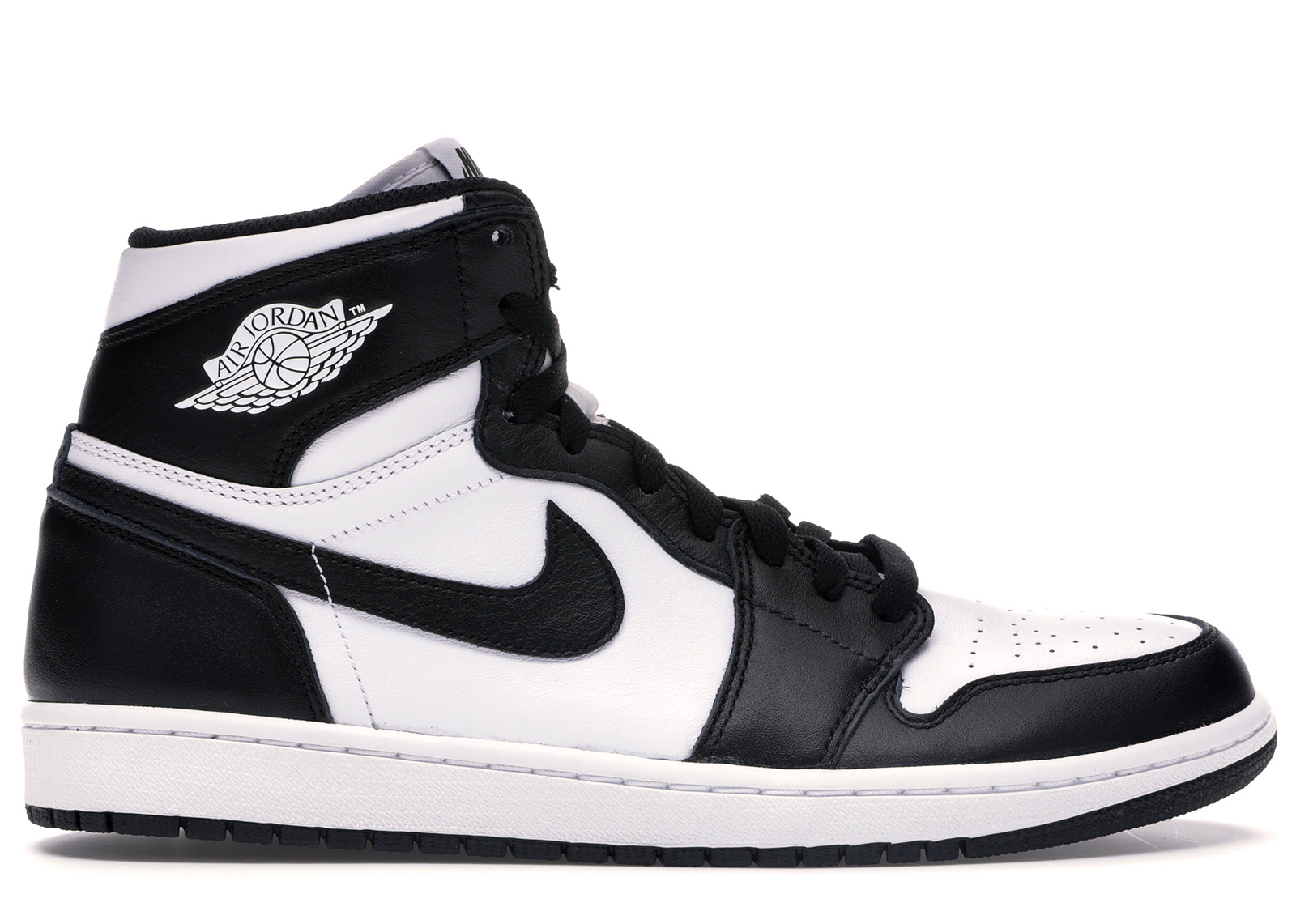 air jordan 1 white and black