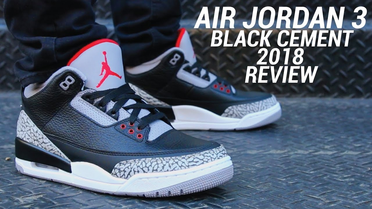 air jordan black cement 3