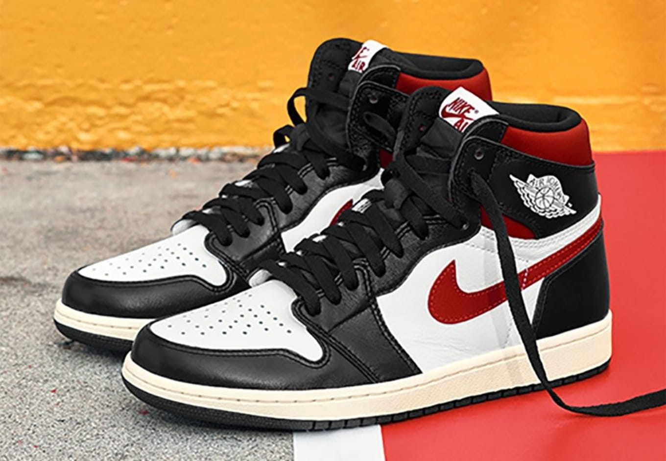 air jordans black and red