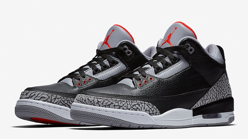 air jordans black cement 3