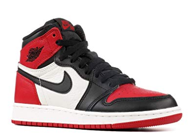 red and black air jordans 1
